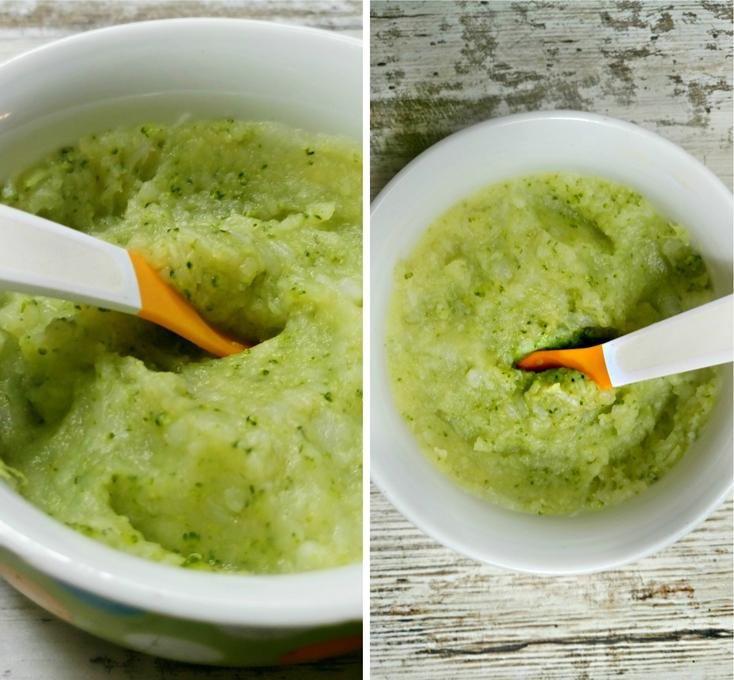 brokula karfiol i luk za bebe
