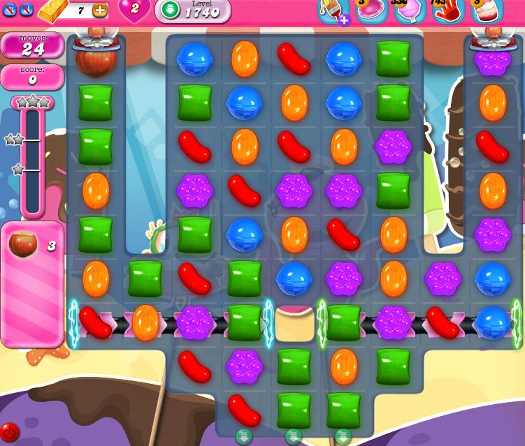 Candy Crush Saga 1740
