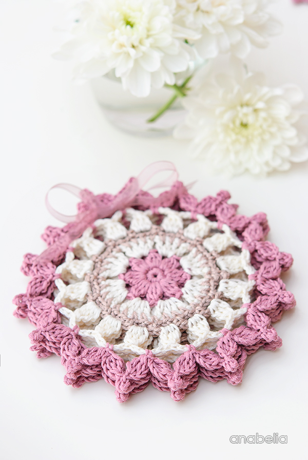 Summer coasters, an easy to make weekend crochet project | Anabelia ...