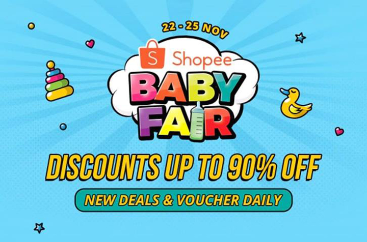 Shopee Baby Fair 22-25 November