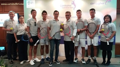 turnamen combiphar tennis open 2018 di indonesia the sultan hotel and residence jakarta nurul sufitri