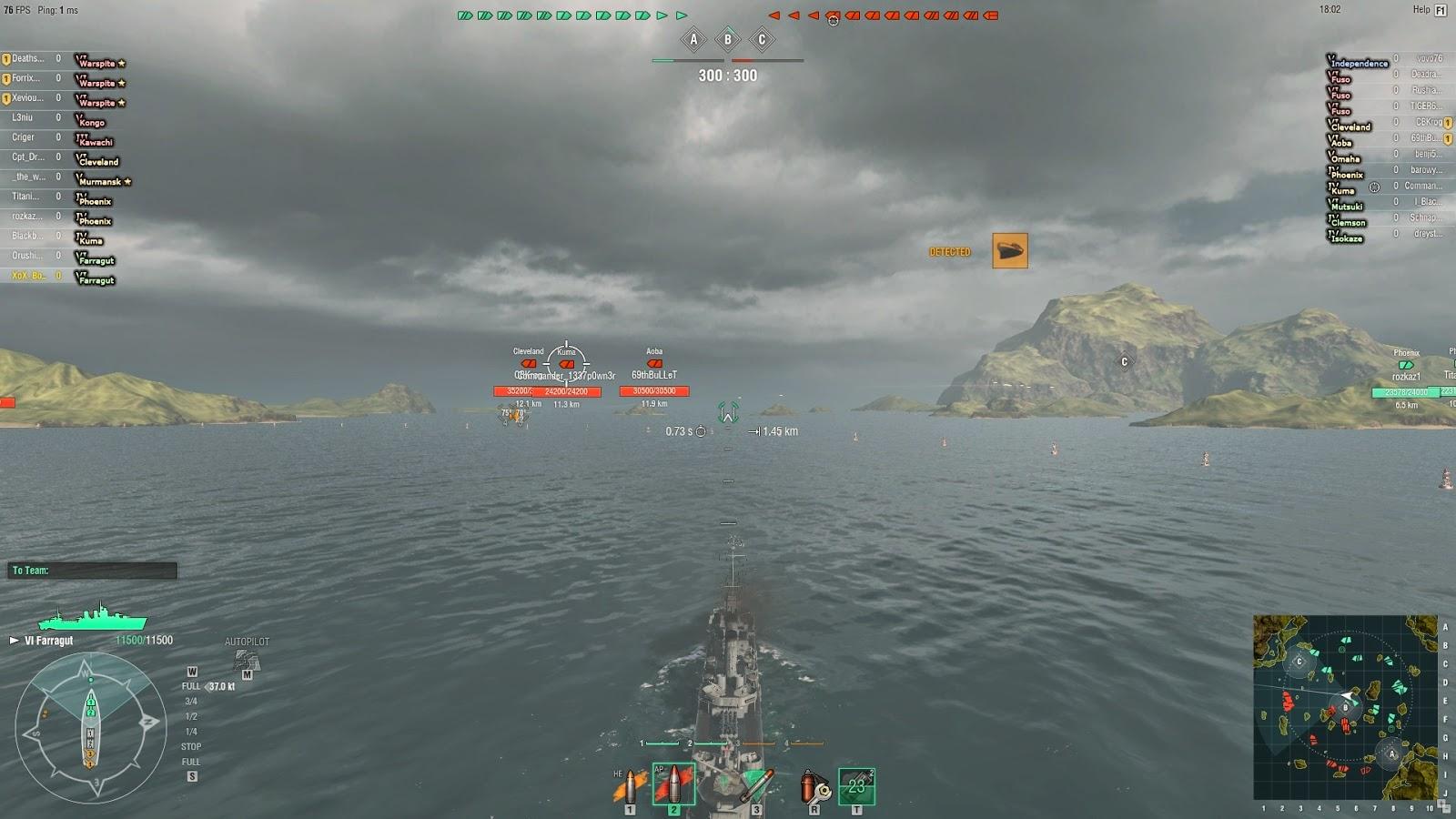 Gox World Of Tanks mods: World of Warships SixthSense MOD [0 3 1] (2