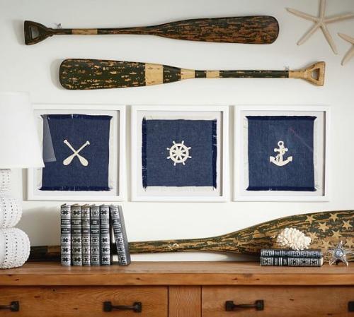 Wooden Decorative Oars