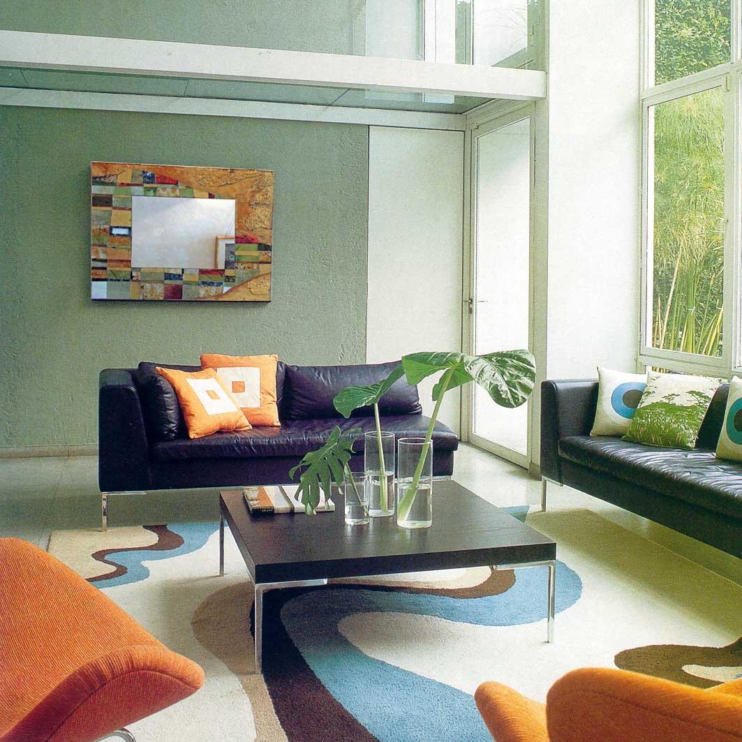 Pintar las paredes del sal n ideas para decorar dise ar - Colores de pinturas para paredes de salon ...