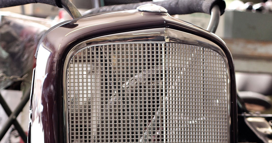 LimeWorks Speedshop: Paul's 1934 Chevy Grill Trim