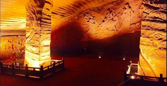 Άγνωστες σπηλιές 1000 τετραγωνικών φτιαγμένες από ανθρώπινο χέρι