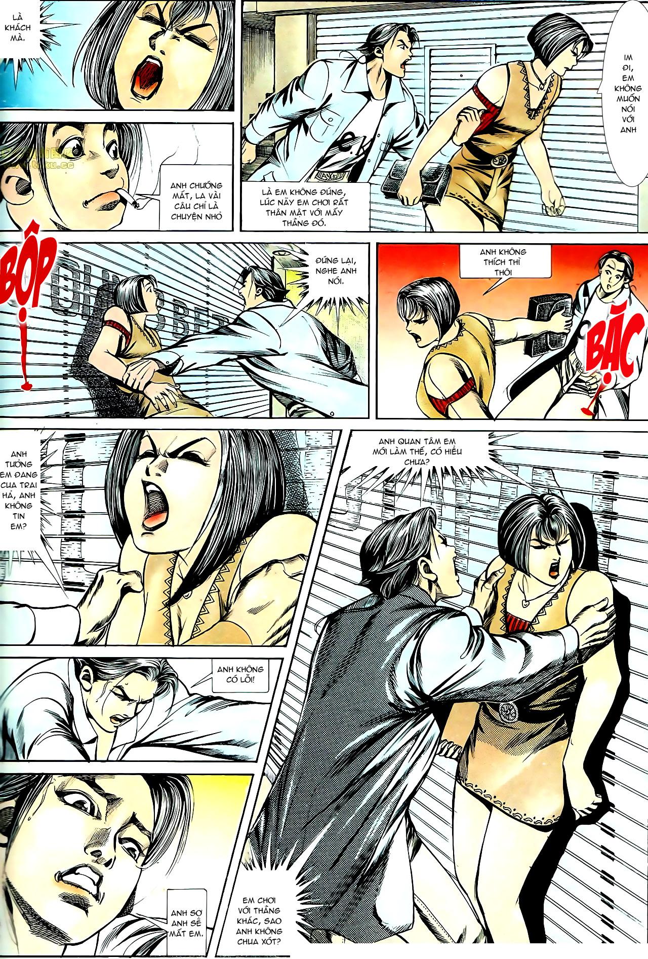 Người Trong Giang Hồ chapter 140: vây giết a khôn trang 22