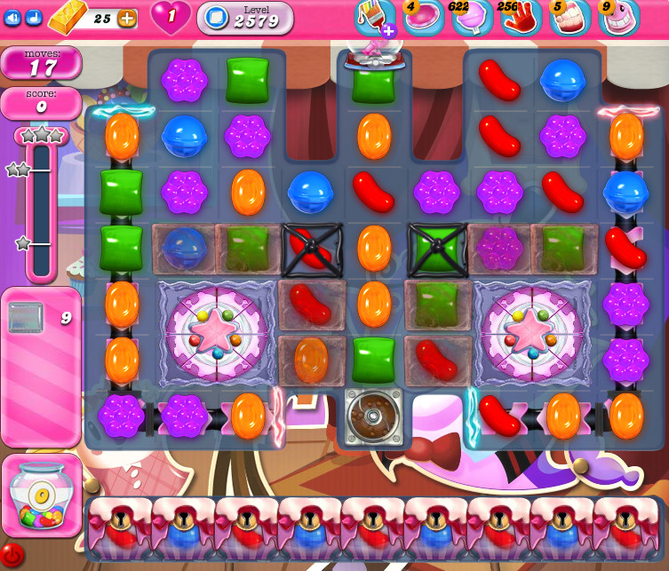 Candy Crush Saga level 2579