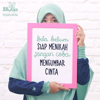 Kata Mutiara Hijab Alila tentang Cinta
