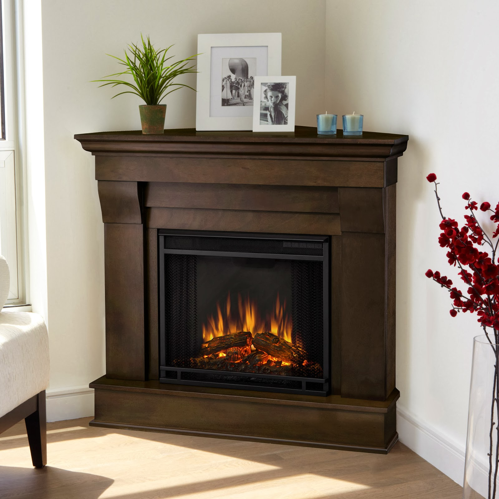 Corner Hearth: Patio And Yards: Gel Fuel & Electric Fireplaces