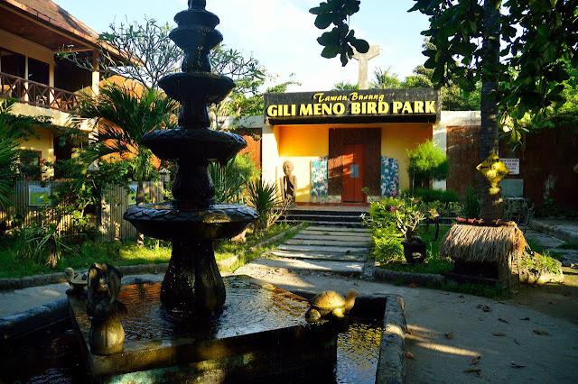 Foto Gili Meno Bird Park