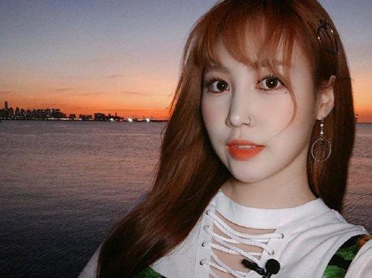 park jimin looks like a doll in her latest selca netizen buzz