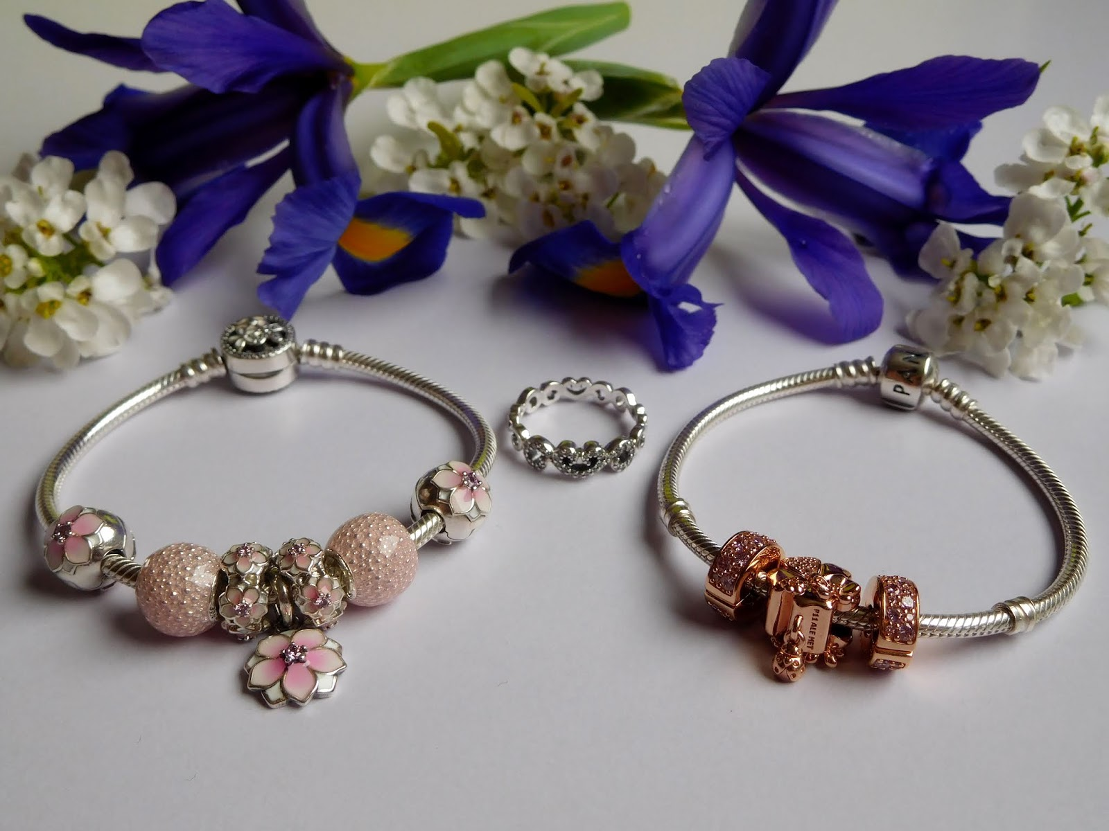 16587dc0d ... purple flower string fit pandora diy charm bracelet 1d66b 14a11;  cheapest i bought these next two pieces when the spring 2018 collection  released. both ...