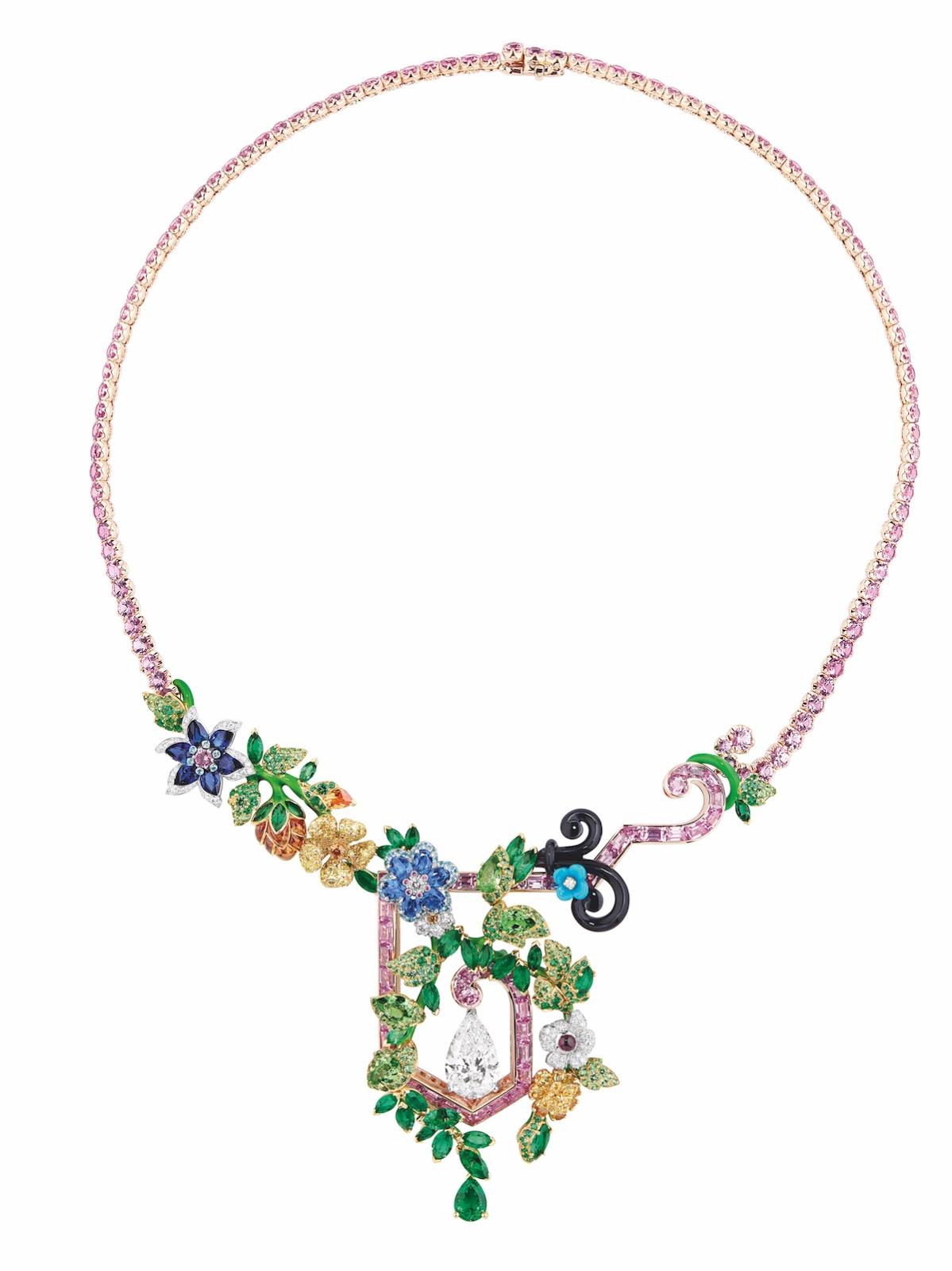 Dior A Versailles, Cote Jardins, Fine Jewellery Collection