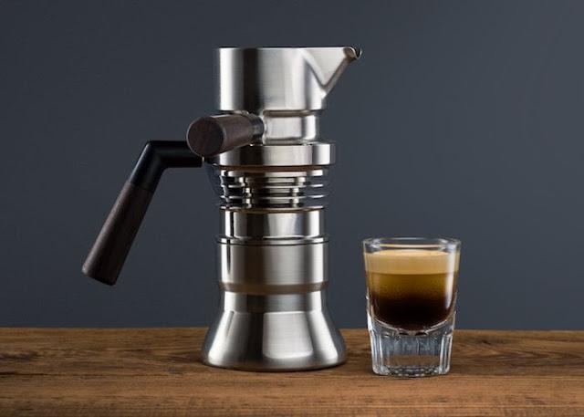 9Barista stove top espresso coffee maker