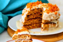 Sweet Vegan Carrot Cake Pancakes Recipe