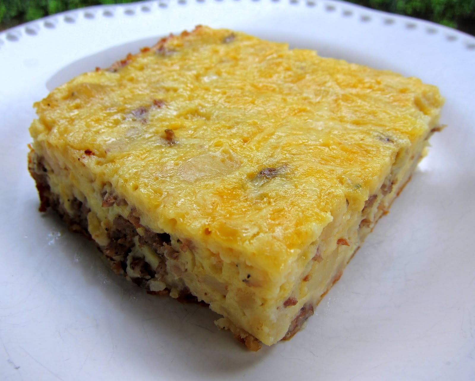 This hearty casserole has bacon, eggs, hash browns, and three different cheeses all baked into a comforting breakfast dish, perfect for feeding a plpost.ml: 3.