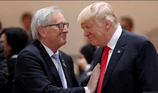 Trump set for exchange pull of-war with EU's Juncker