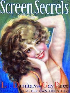 Lili Damita Magazine Cover