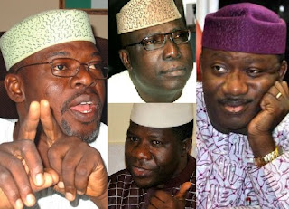 EKITI 2018 EXCLUSIVE: War In Ekiti APC As Fayemi Plots Guber Come Back; Segun Oni, Ojudu, Bamidele Kick, All Spur For War