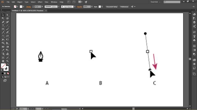 Menit Mahir Menggunakan Pen Tool Di Adobe Illustrator CC  3 Menit Mahir Menggunakan Pen Tool Di Adobe Illustrator CC