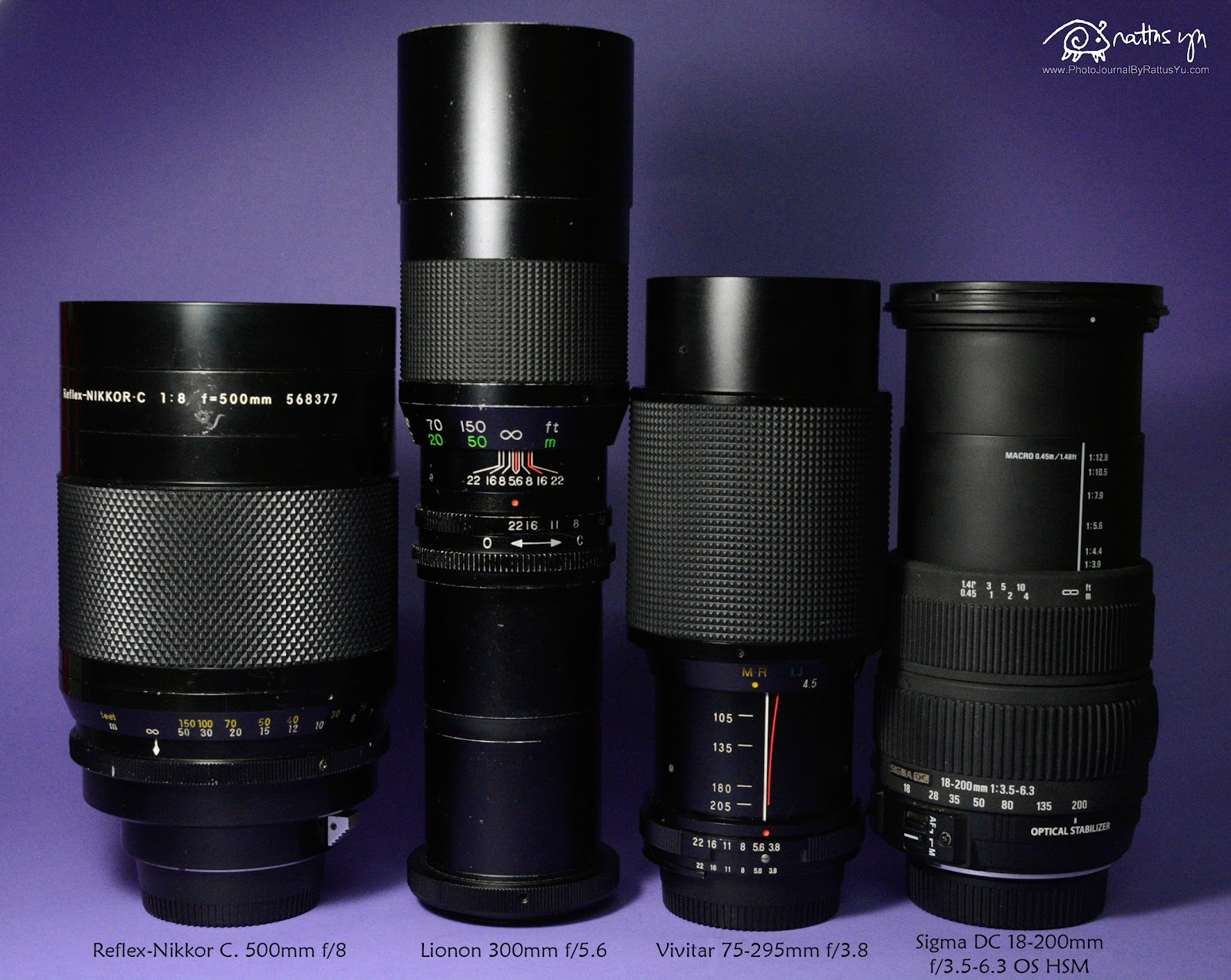 Sigma DC 18-200mm f/3.5-6.3 Macro OS HSM (Launched 2007, for Nikon)