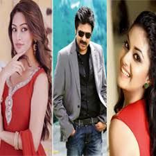 Two Papular  Heroines Are In Agnyathavasi Audio Lunch
