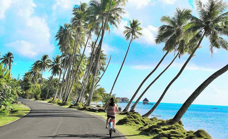 Tahiti, Bora Bora, Overwater Bungalows, Pacific