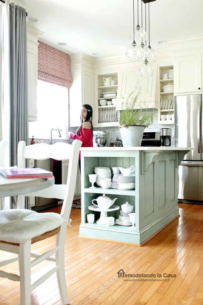 Samantha Garay in kitchen