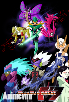 Mega Man Star Force - Ryuusei no Rockman 2007 Poster
