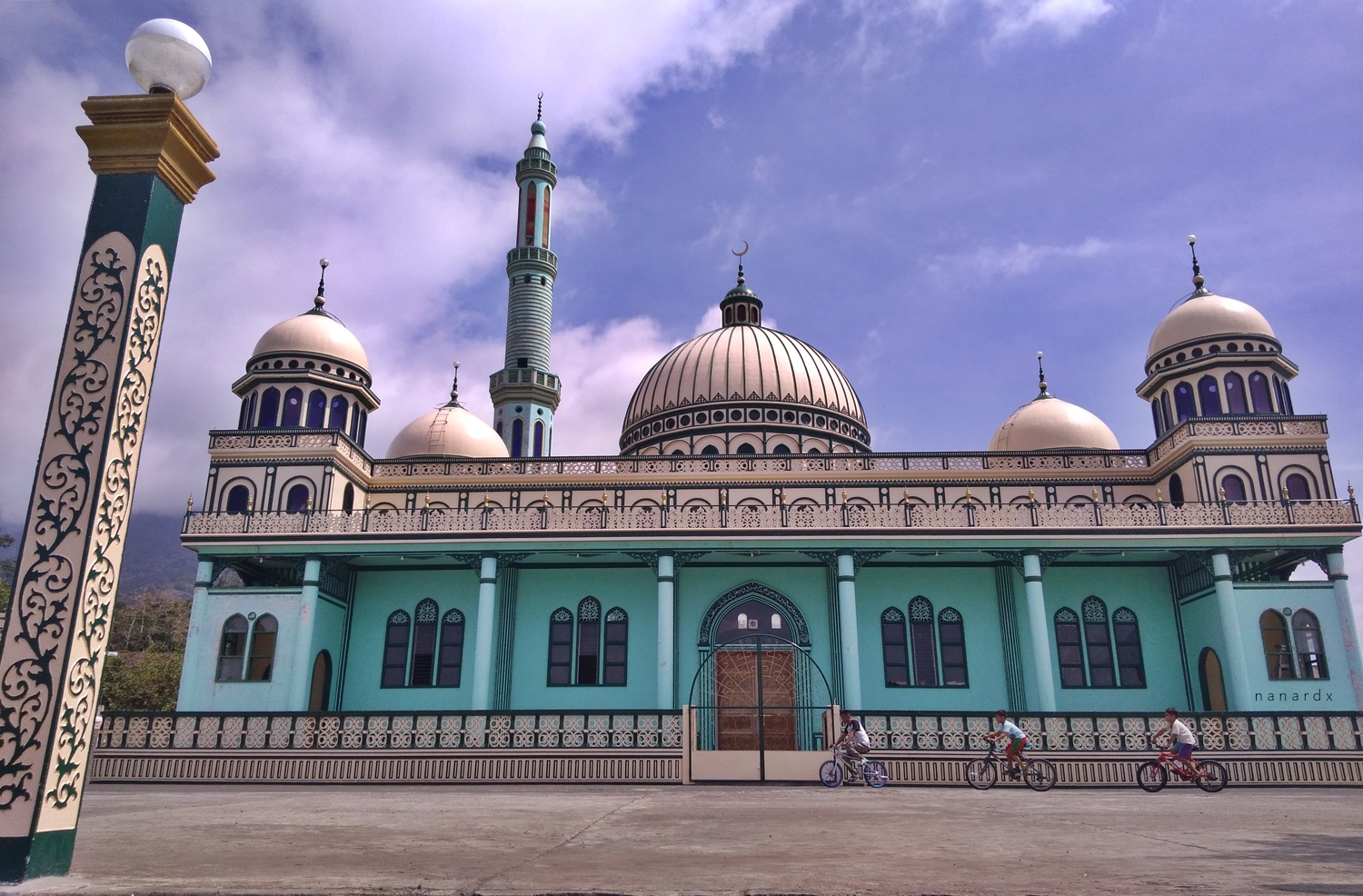 The breathtaking Bacolod Grande Grand Mosque in Lanao del Sur