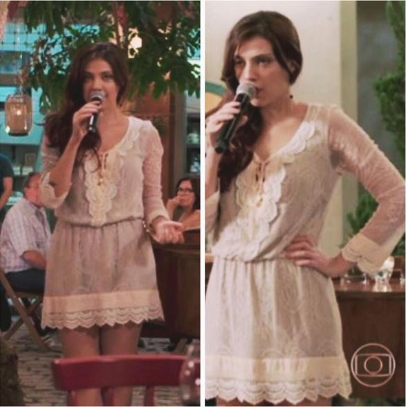 Anita (Leticia Persilles) vestido figurino, Além do tempo