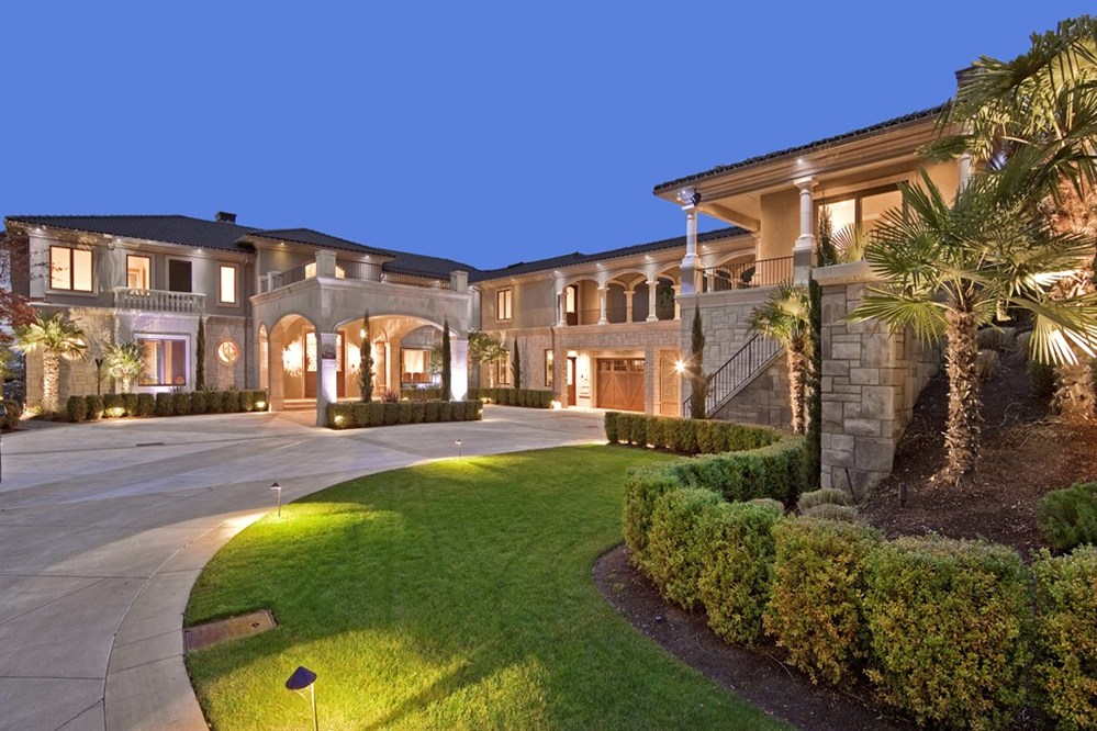 Mansions Amp More Waterfront Washington Estate Listed At