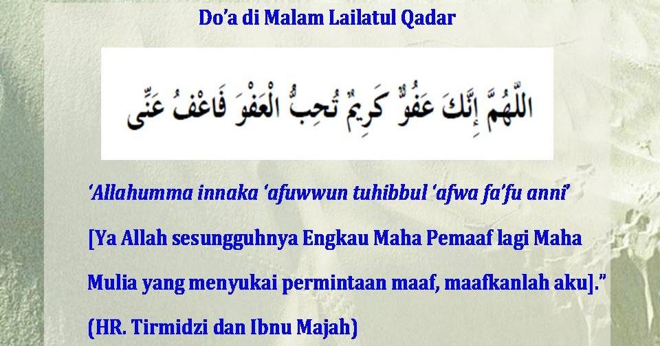 Doa Hari Terakhir Di Bulan Puasa Akhir Ramadhan Malam