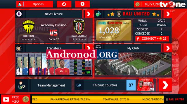 DLS 2018 Mod Bali United Apk Data by Diptavir