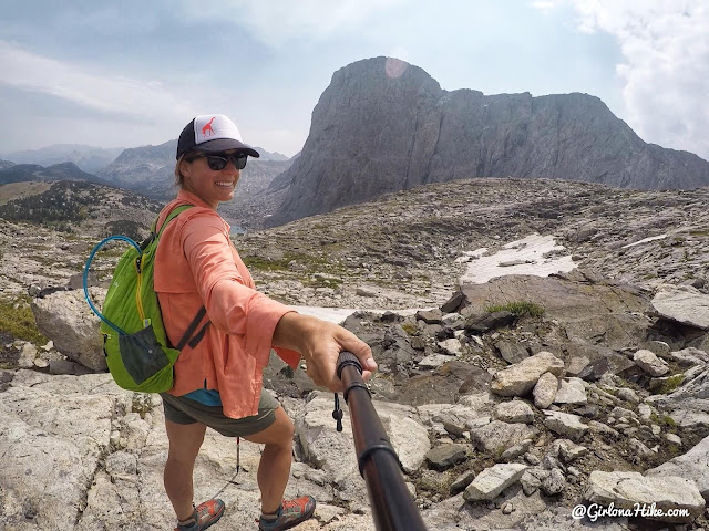 Backpacking to Mt. Hooker & Baptiste Lake, Wind River Range