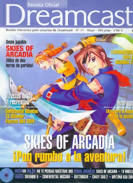 Revista Oficial Dreamcast Issue N°17