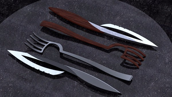 15 Awesome And Coolest Cutlery Designs Part 4