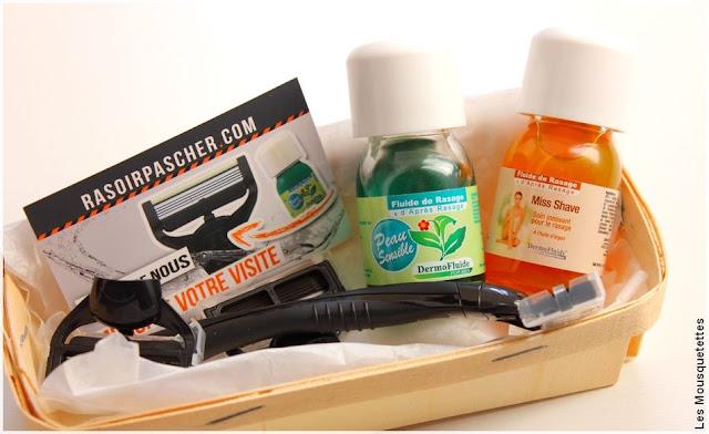 Rasoirpascher - Bon plan rasoir et lames à petit prix - Blog beauté Les Mousquetettes