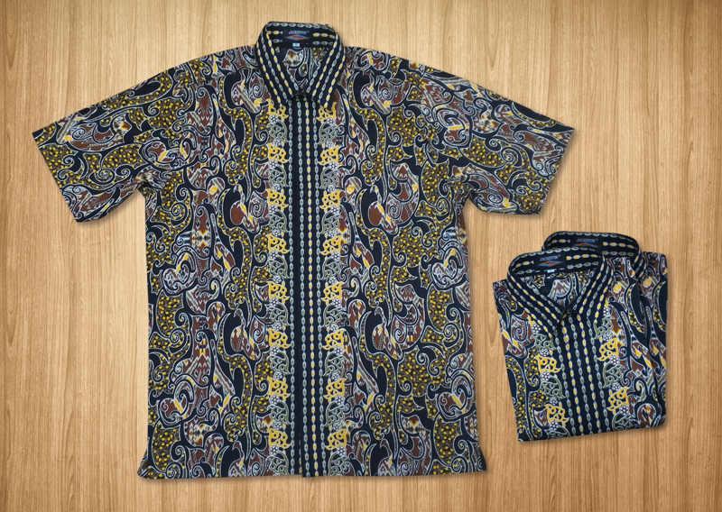 Batik Katun motif Dayak