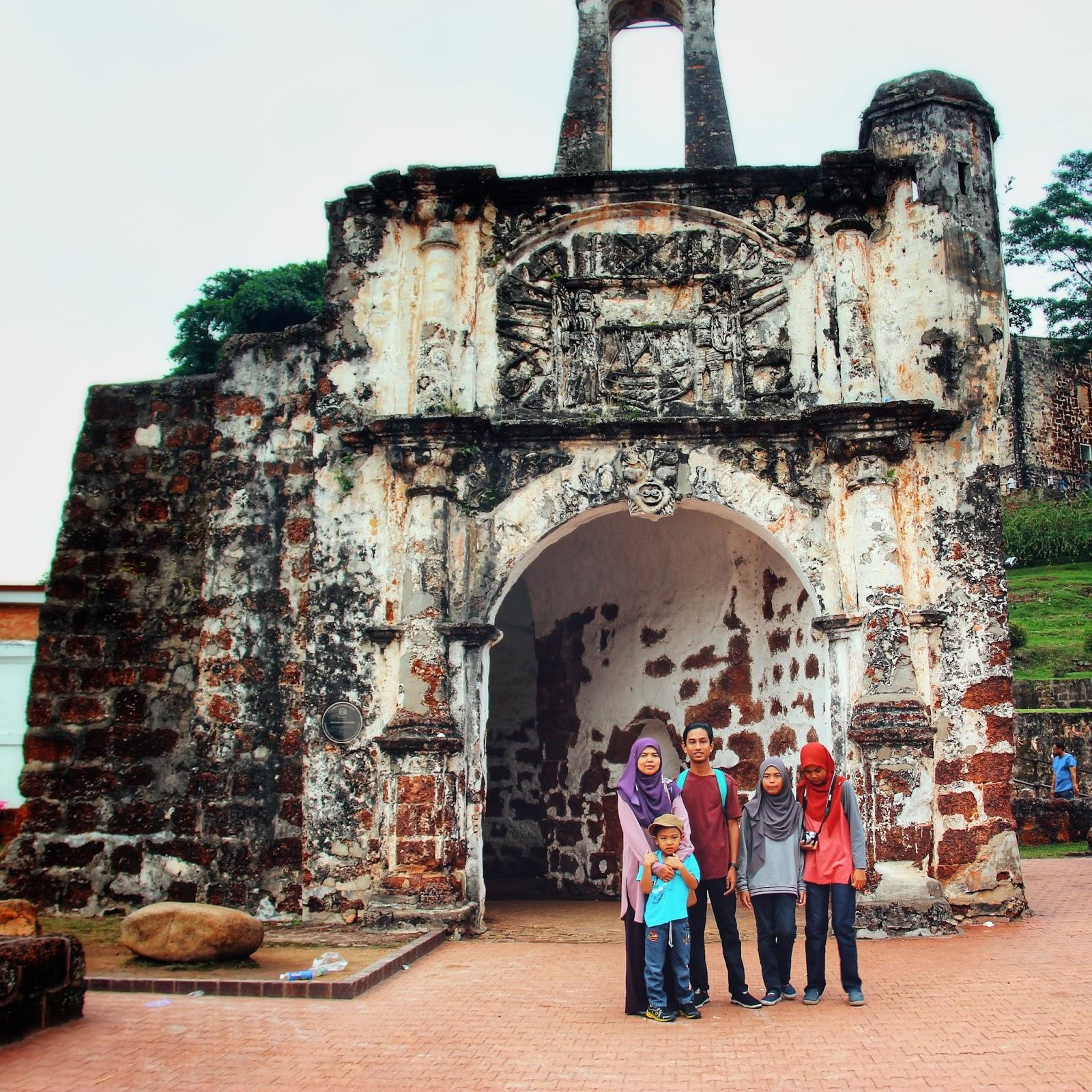 Itinerari Percutian 3H2M Di Melaka