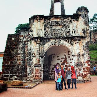 Itinerari Percutian Keluarga 3H2M di Melaka Bandaraya Bersejarah