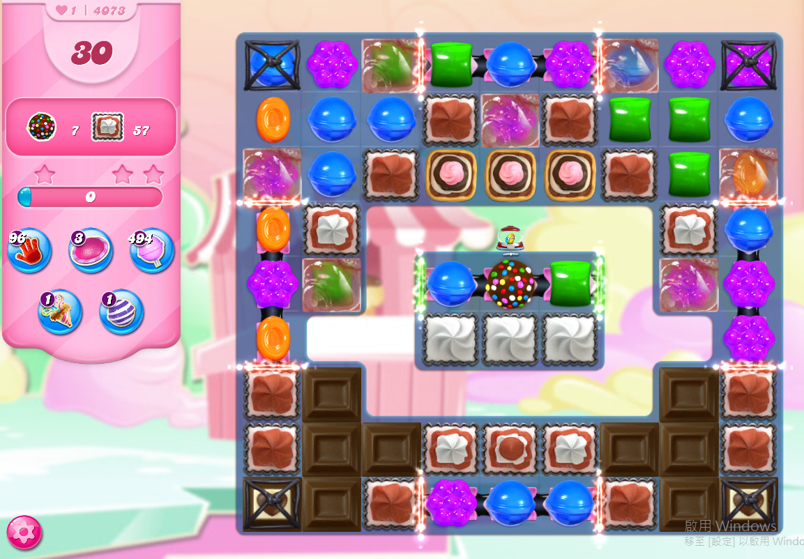 Candy Crush Saga level 407