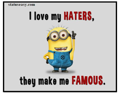 Cool Minion Image with status
