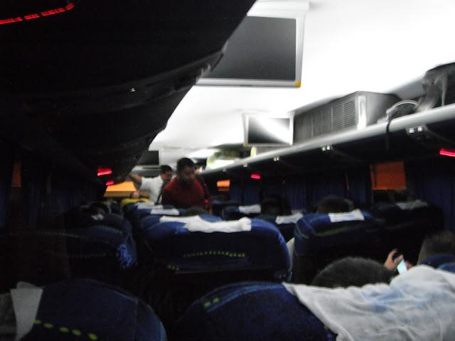 first class bus FDN Maya de Oro Guatemala