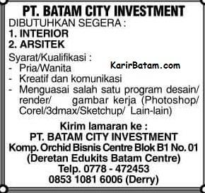 PT. Batam City Investment