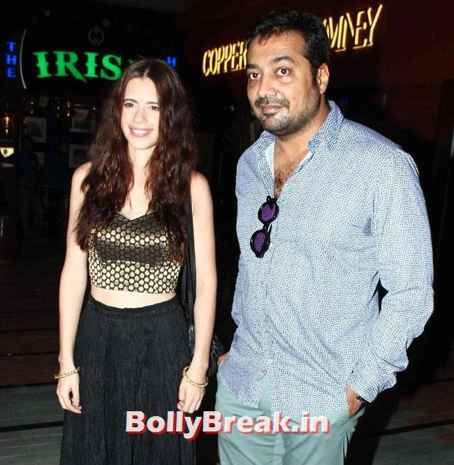 Anurag Kashyap and Kalki Koechlin, Nimrat Kaur, Shilpa Shukla at The World Before Her Movie Special Screening