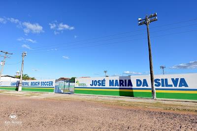 Você já viu a nova Arena Municipal de Beach Soccer? A inauguração será nesta sexta, dia 1° JUL.