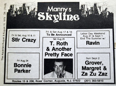Manny's Skyline band lineup
