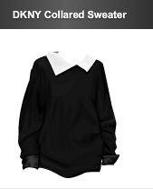 stardoll dkny collared sweater